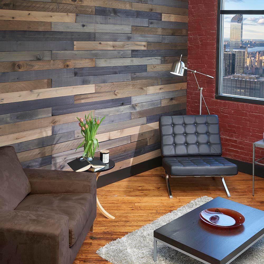 Home Depot Design Ideas: Interior Wood Plank Walls Home Depot Wall Design Ideas