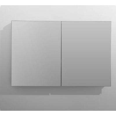 Royale 48 in W x 30 in. H Recessed or Surface Mount Medicine Cabinet with Bi-View Doors