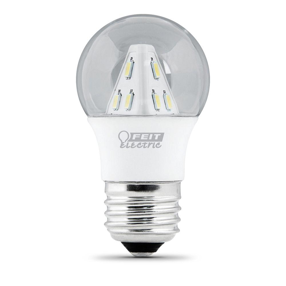 Feit Electric 25W Equivalent Warm White (3000K) A15 Clear LED Light Bulb