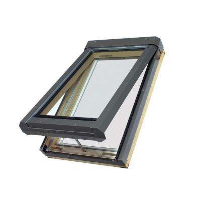 FVE304L - 22-1/2 in x 37-1/2 in. Eletric Venting Deck Mount Skylight with Laminated LowE Glass