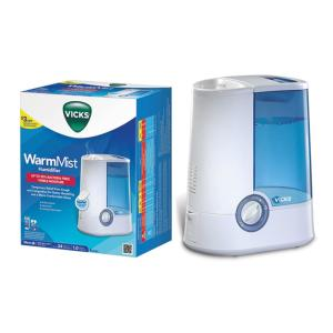 Vicks 1 Gal Warm Mist Humidifier V750 The Home Depot