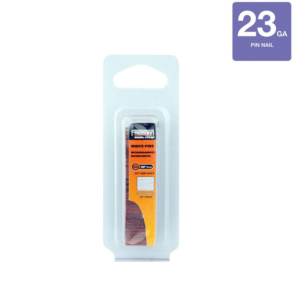5/8 in. 23-Gauge Glue Collated Pin Nail 2000 per Box