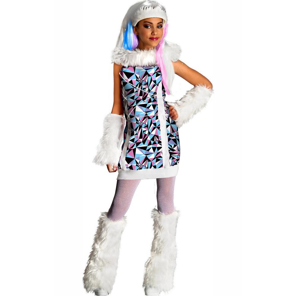 Halloween Costumes For Girls.Rubie S Costumes Medium Girls Monster High Abbey Bominable Costume