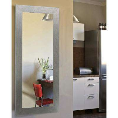 63.5 in. x 25.5 in. Yukon Silver Full Body Vanity Mirror