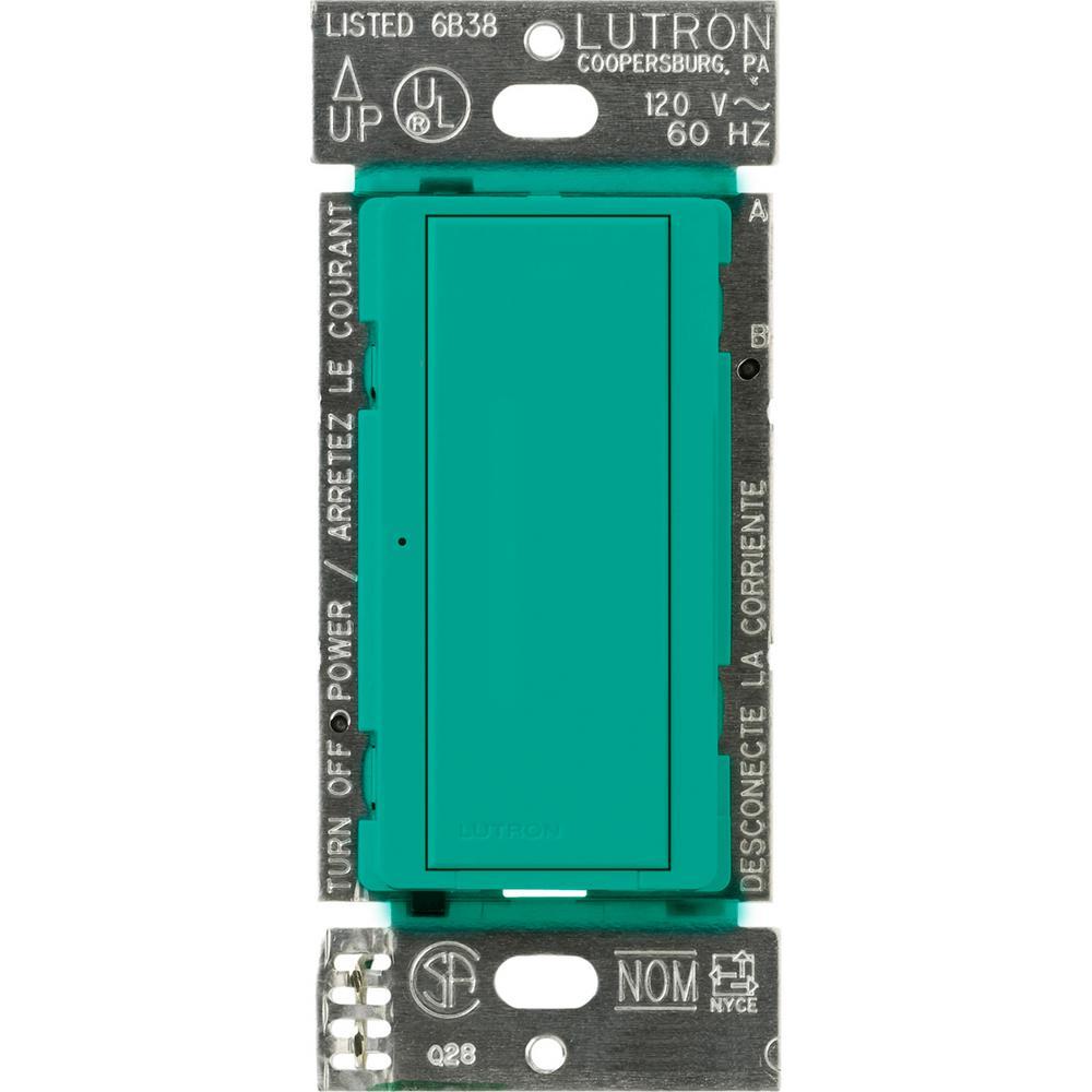 Lutron Maestro 8 Amp Multi Location Digital Switch Turquoise Msc Light