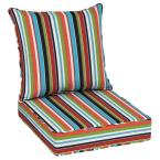Oak Cliff 24 x 24 Sunbrella Carousel Confetti Deep Seating Outdoor Lounge Chair Cushion