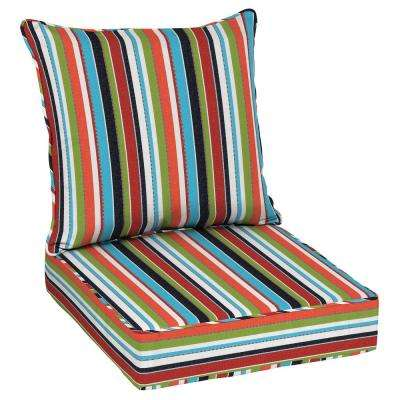 Carousel Confetti Outdoor Chair Cushions Outdoor Cushions The