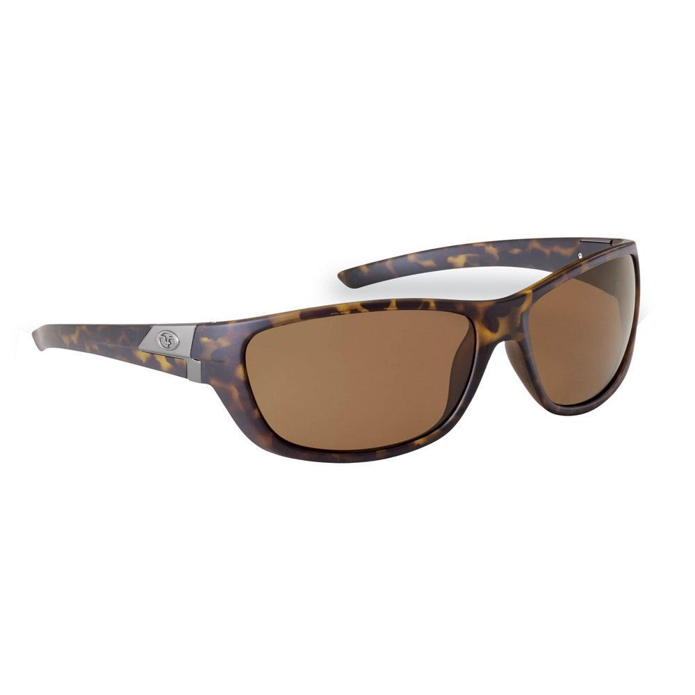 f73b996dd0 Flying Fisherman Bahia Polarized Sunglasses Matte Tortoise Frame with Amber  Lens