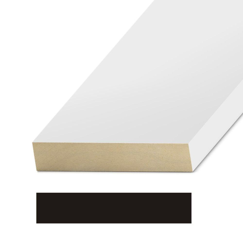 1 in. x 5-1/2 in. MDF 2 R.E. Header Moulding-MDF5455A - The Home Depot