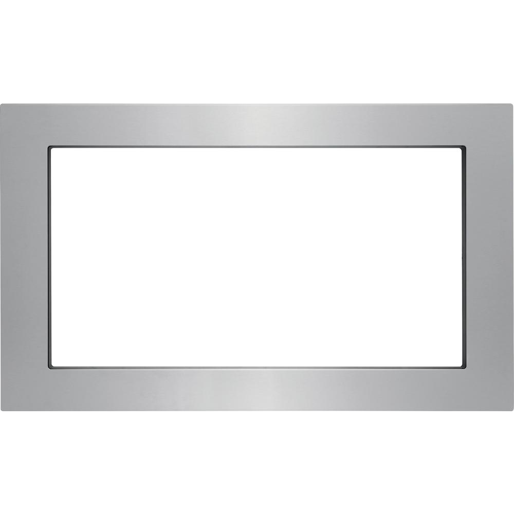 30 inch Trim Kit for Built-In Microwave Oven in Stainless Steel