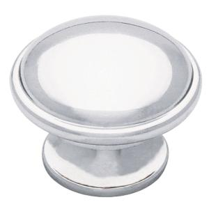 Classic 1-1/2 in. (38mm) Polished Chrome Round Cabinet Knob