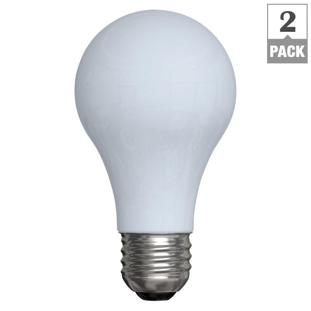 GE 50/100/150-Watt Incandescent A21 3-Way Light Bulb (2-Pack)