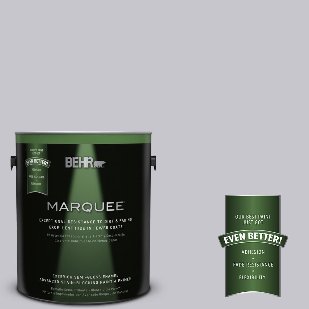 BEHR MARQUEE 1-gal. #N550-2 Centre Stage Semi-Gloss Enamel Exterior Paint