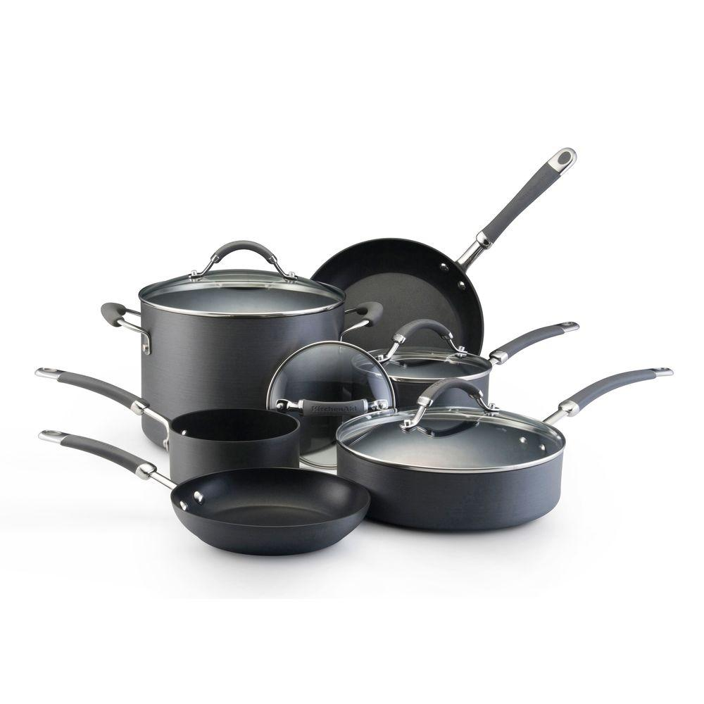 KitchenAid 10-Piece Hard Anodized Cookware Set-DISCONTINUED