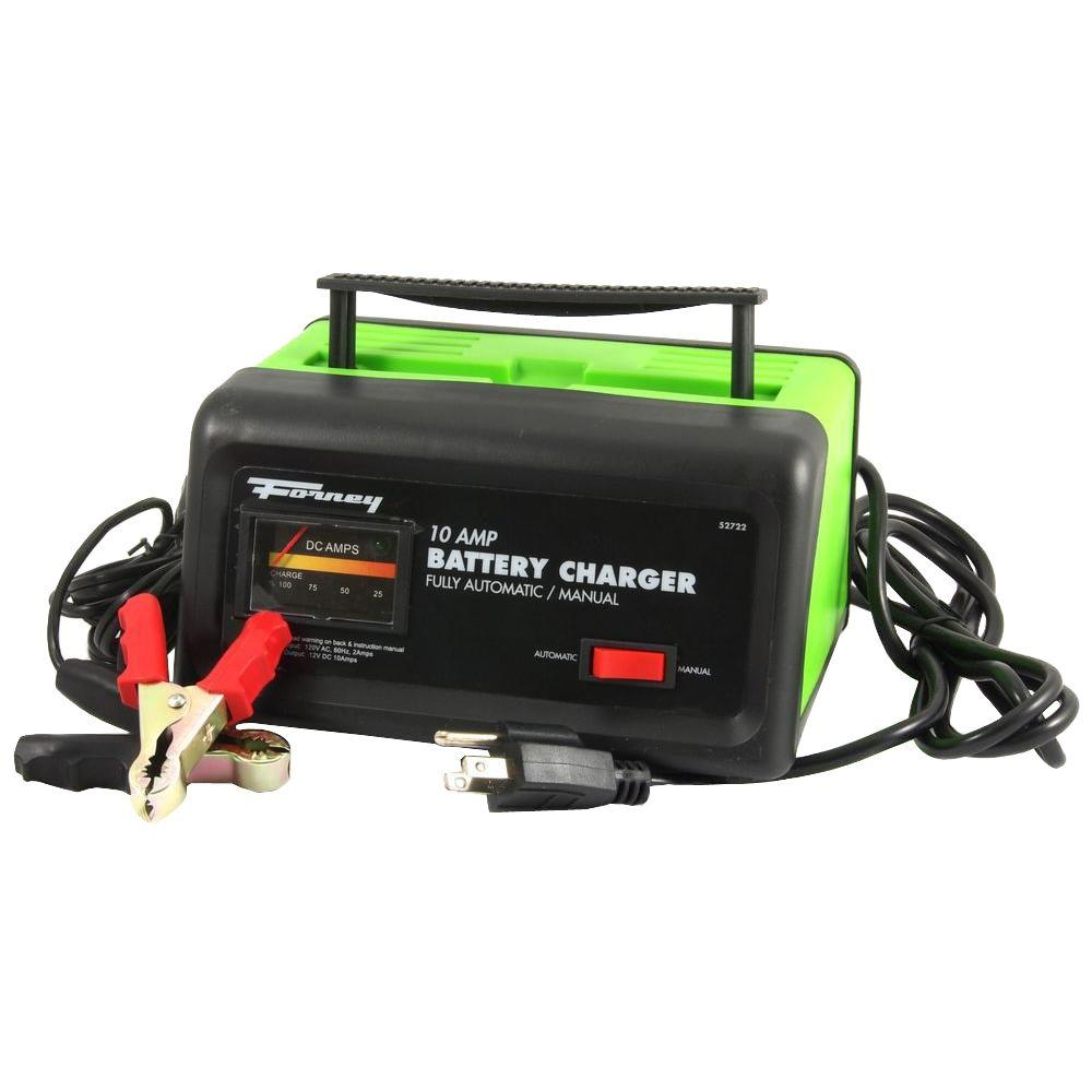Forney 10 Amp 120 Volt Battery Charger