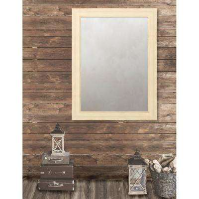 Pinnacle 37.5 in. x 49.5 in. French Antique Wide Framed Antique Mirror