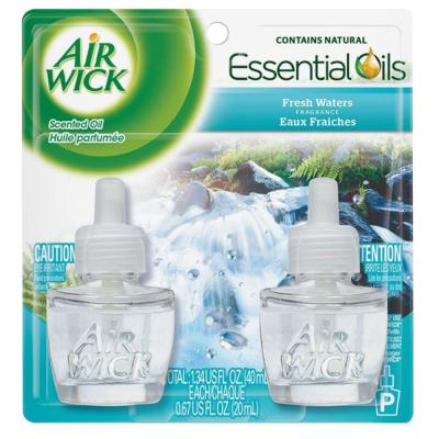 Air Wick 0 67 oz  Fresh Waters Scented Oil Refill (2-Pack