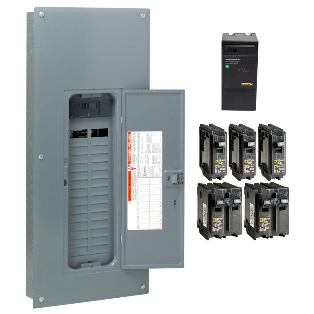 Square D 100 Amp 32 Circuit Panel - Data Wiring Diagrams •
