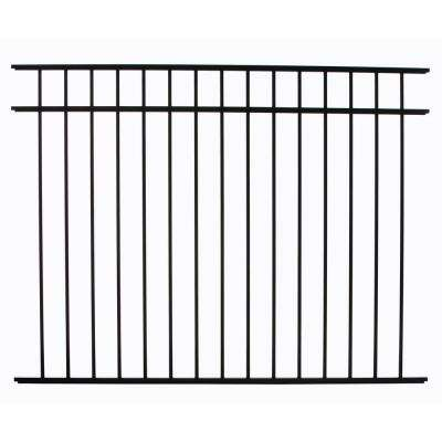 Meriden 4.5 ft. H x 6 ft. W Aluminum Fence Panel