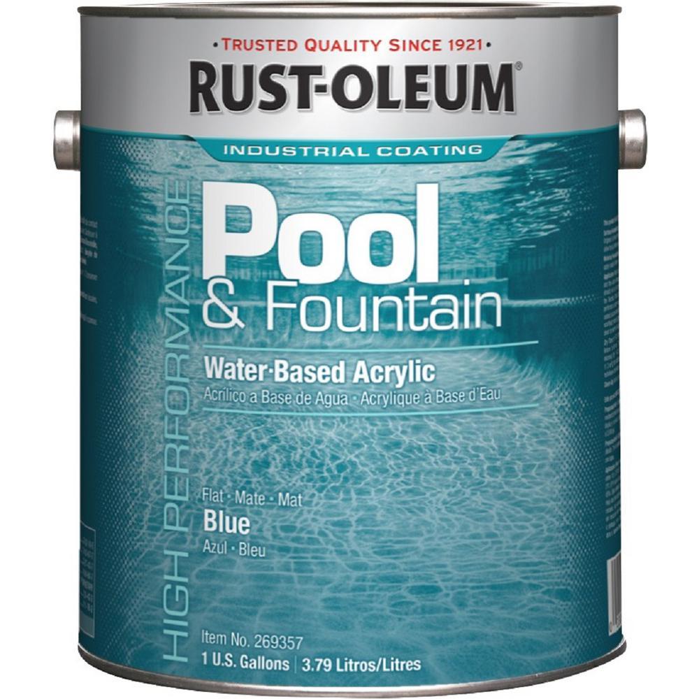 Rust Oleum Waterproof Pool Paint