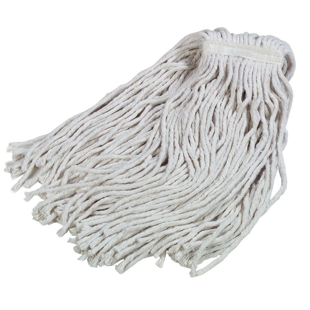 4-Ply Large Cotton Cut End Wet Mop (12-Pack)