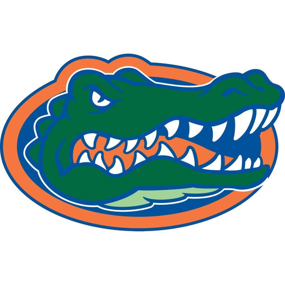 Fathead 50 in. x 31 in. Florida Gators Logo Wall Decal