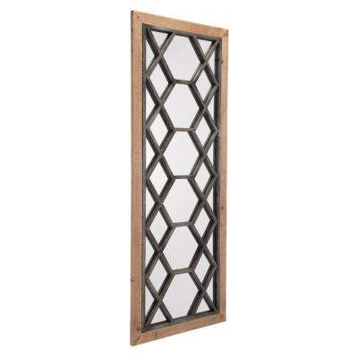 Moroccan Brown Wall Mirror