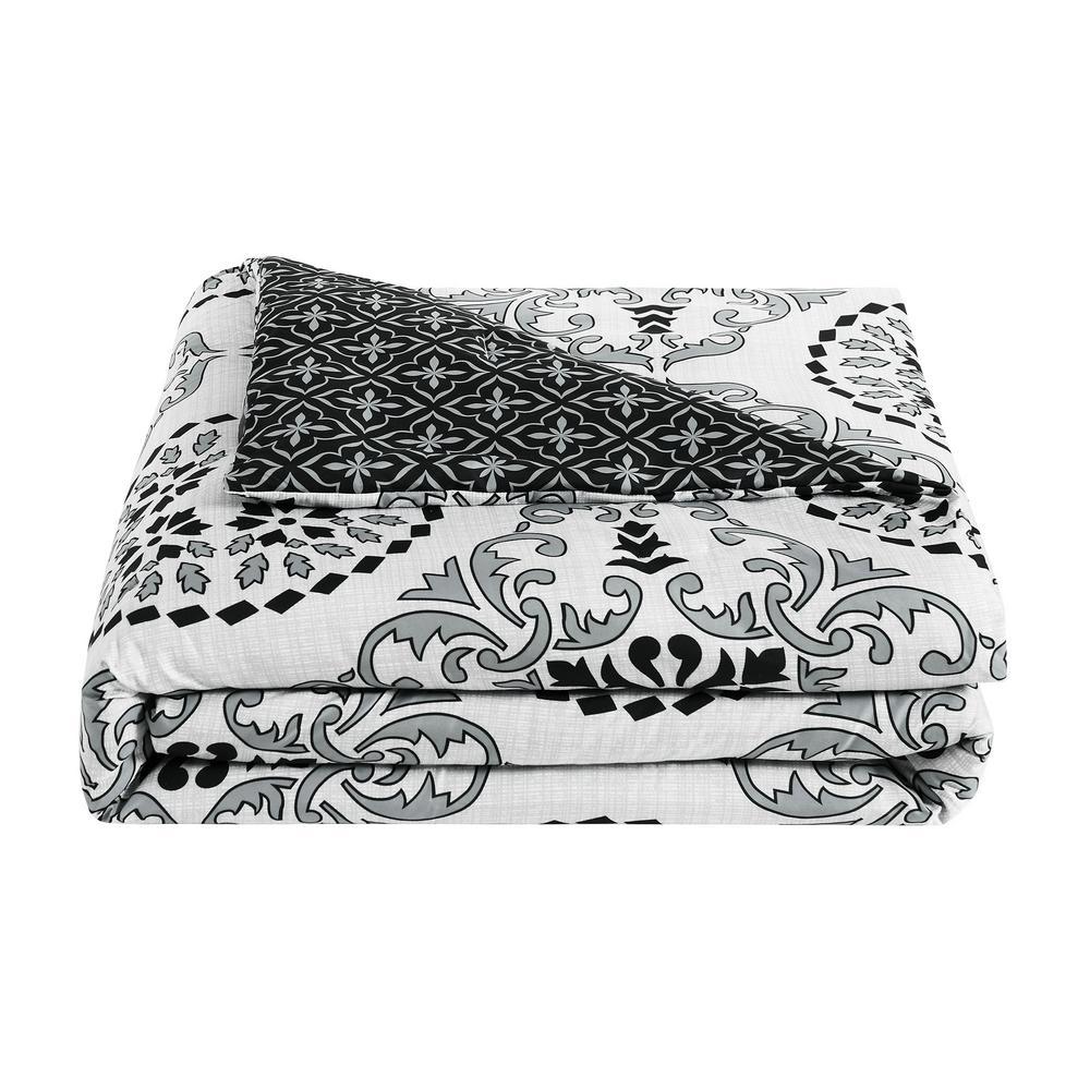Bailey 5-Piece Gray King Comforter Set