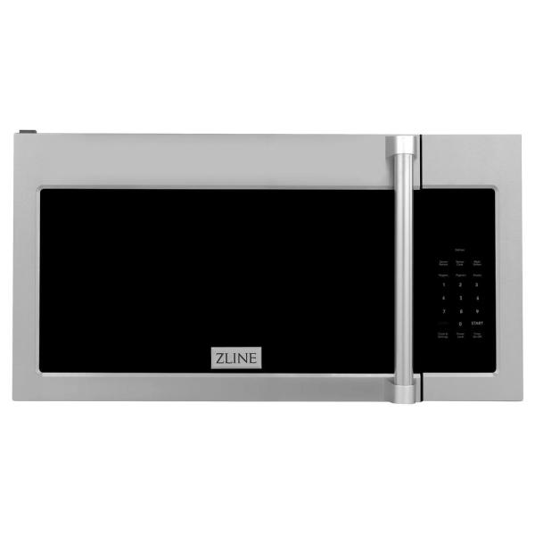 ZLINE 1.5 cu. ft. Over the Range Microwave Oven in Stainless Steel with Modern Handle