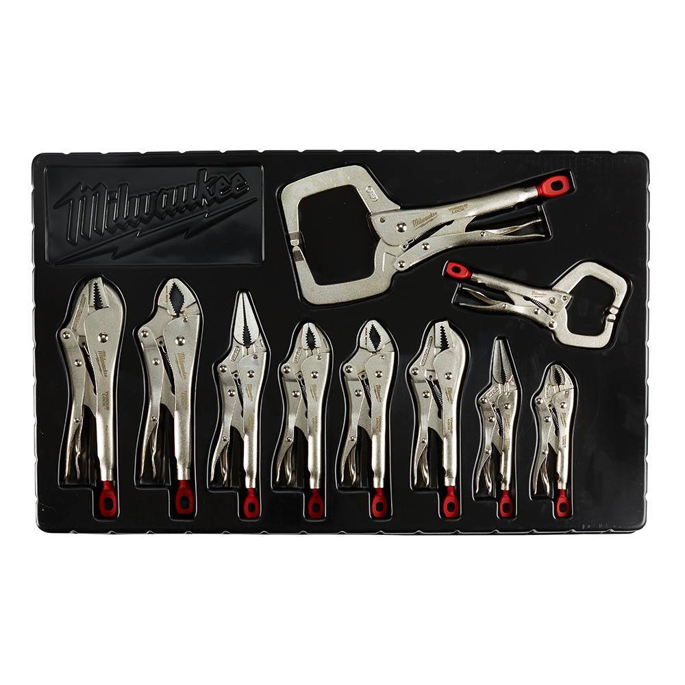 Milwaukee Milwaukee Torque Lock Locking Pliers Kit (10-Piece)
