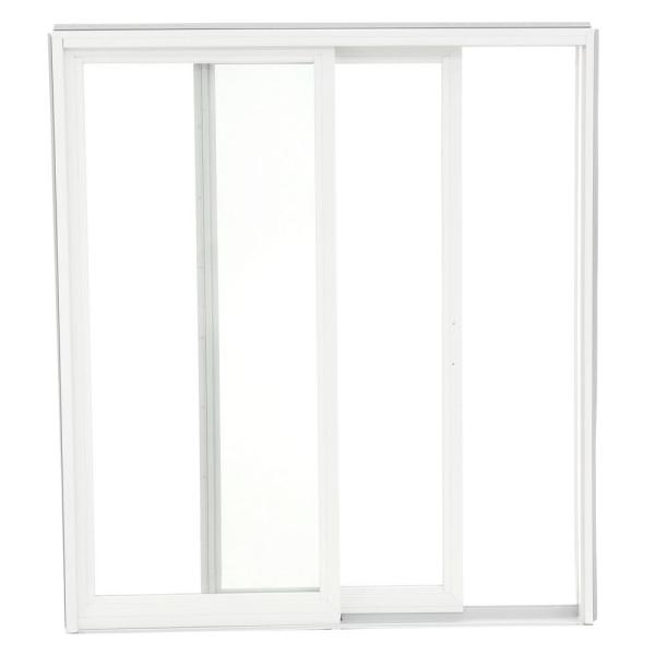 Andersen 72 In X 80 In 200 Series Perma Shield Wood Sliding Patio Door In White Right Hand Ps510 R Kit The Home Depot