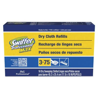 Max XL Dry Cloth Refills (16-Count) (6-Pack)