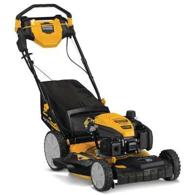 21 in. 159cc Engine with IntelliPower Front-Wheel Drive 3-in-1 High Rear Wheel Gas Self Propelled Walk Behind Lawn Mower