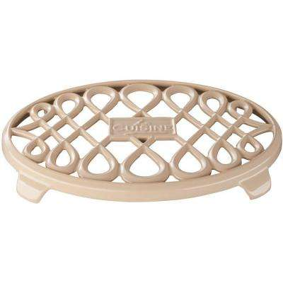 Cast Iron Non-slip Cream Trivet