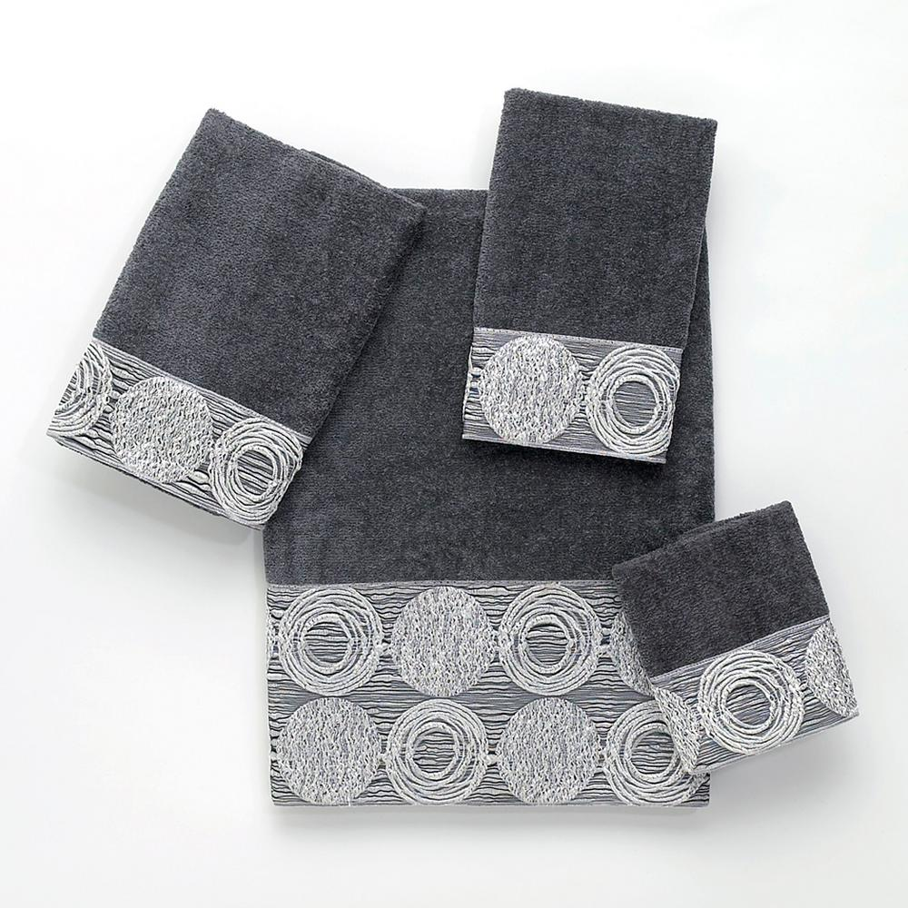 Galaxy 4-Piece Bath Towel Set in Granite