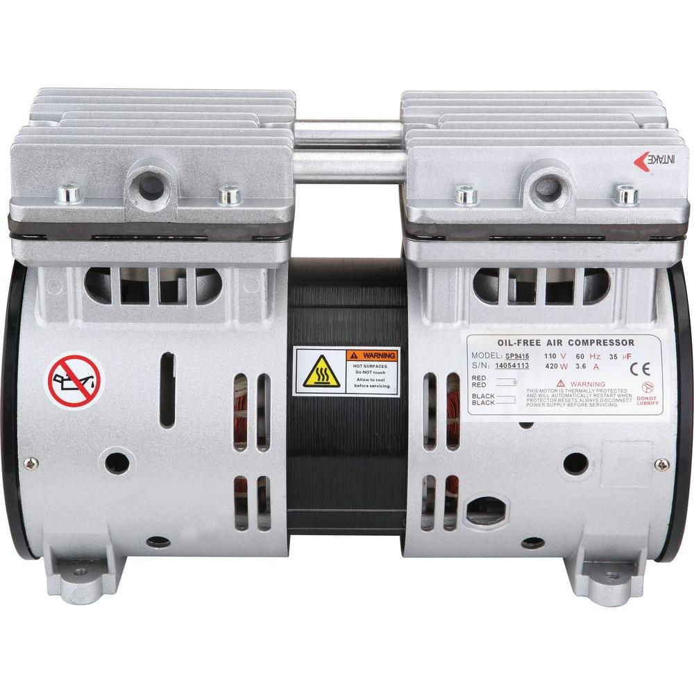 1/2 HP Ultra Quiet and Oil-Free Air Compressor Motor