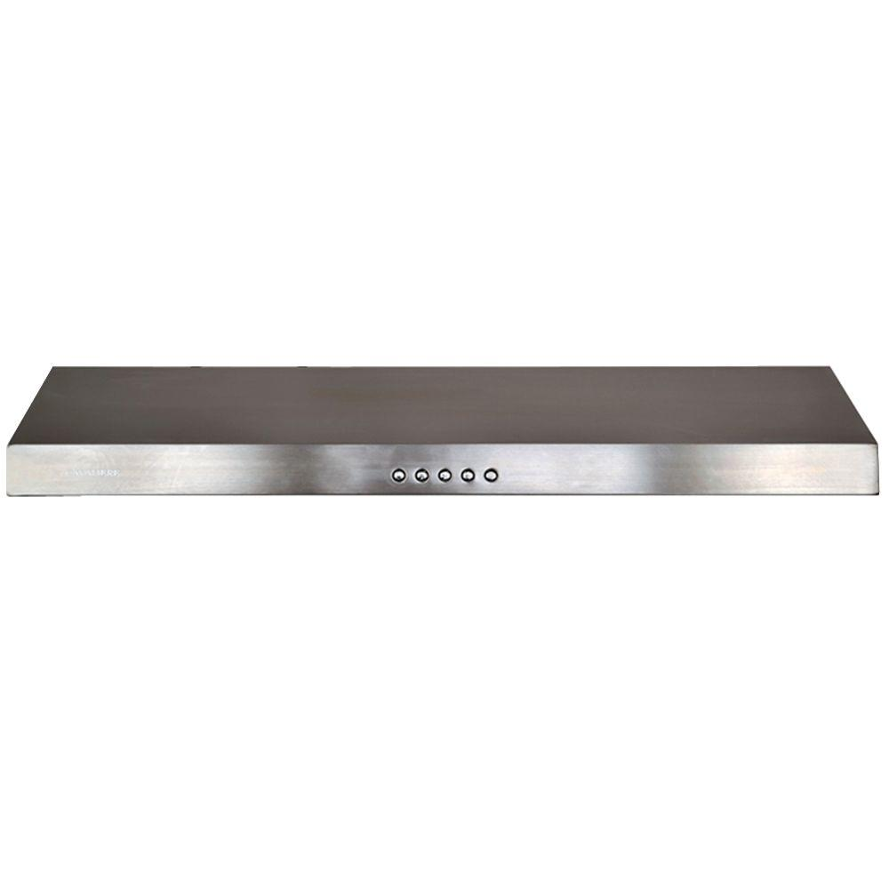 Cavaliere 30 In. Convertible Under Cabinet Range Hood With Light In  Stainless Steel