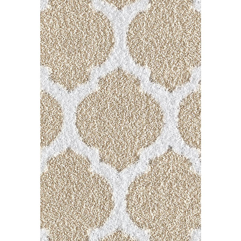 Seyward Light Taupe Off White 2 Ft X 4 Area Rug