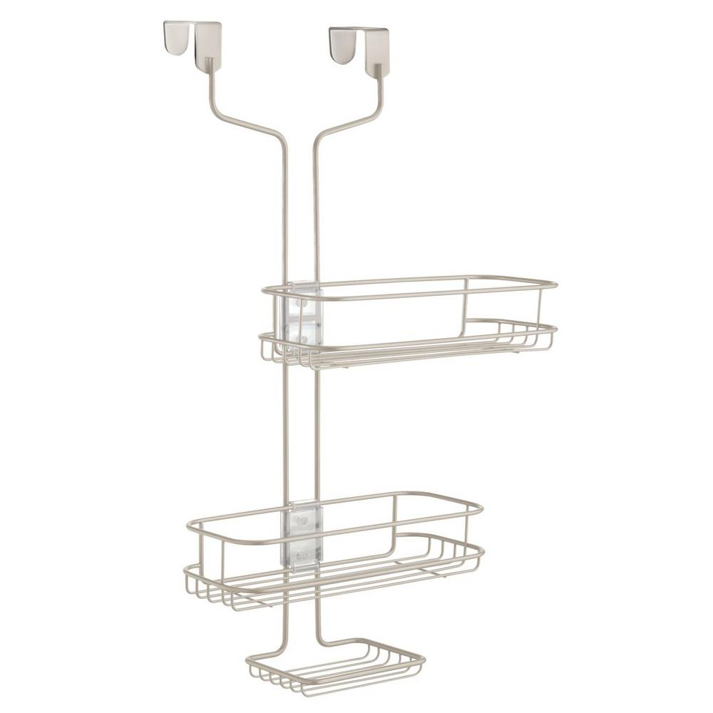 Interdesign Linea Adjustable Over Door Shower Caddy 69485 The Home