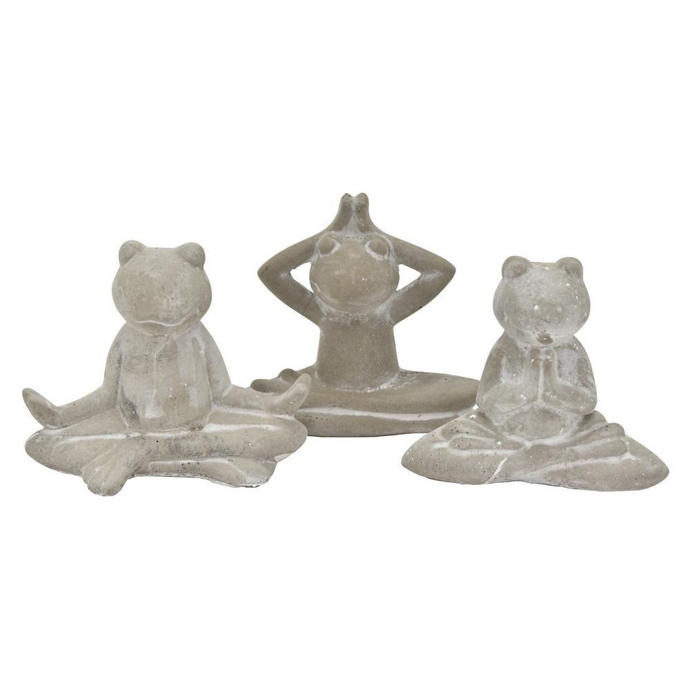4 in. Yoga Frog (Set of 3)