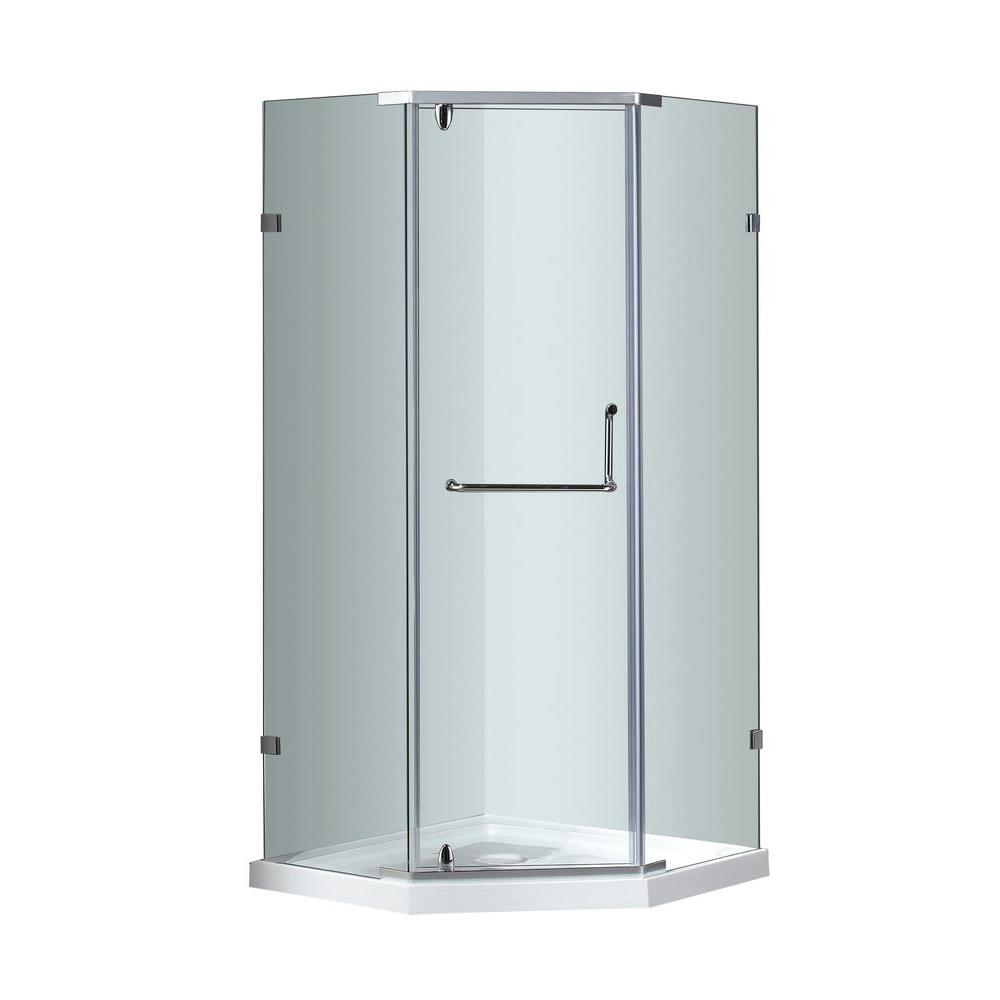 Shower Stalls Kits Showers The Home Depot - Bathroom enclosures home depot for bathroom decor ideas