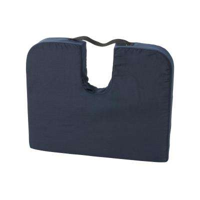 MABIS DMI Healthcare Sloping Seat Mate Coccyx Cushion in Navy Blue