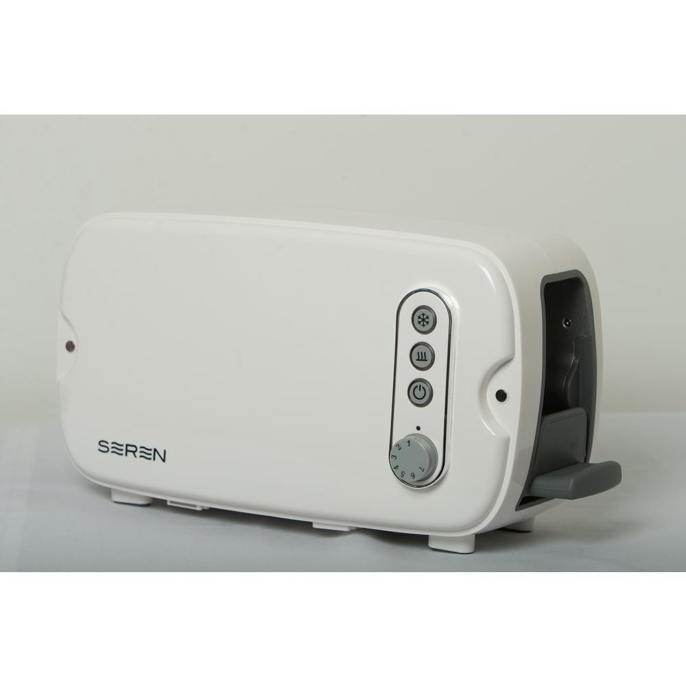 White Seren Toaster