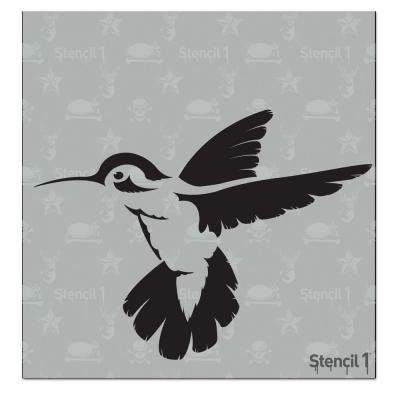 Hummingbird Small Stencil