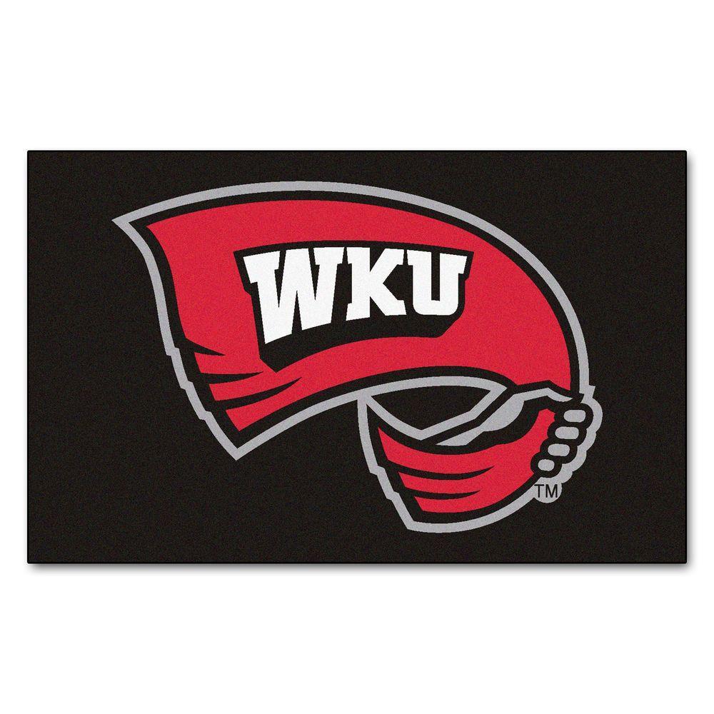 Western Kentucky University 60 in. x 96 in. Ulti-Mat, Team Colors