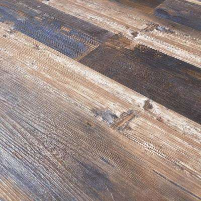 Floor and Wall Samba Wood Style 6 in. x 36 in. Multi-Tonal Glue Down Luxury Vinyl Plank (2400 sq.ft./80 cases/pallet)