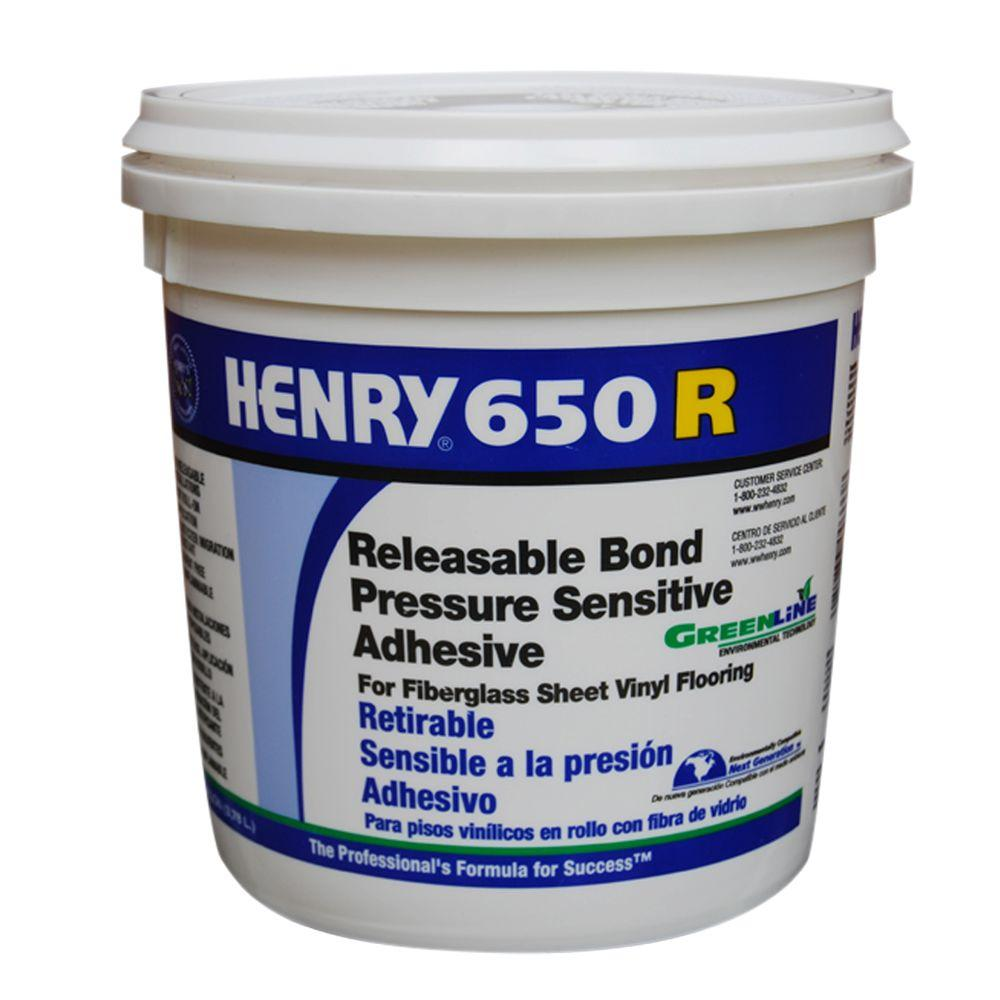 Henry 650R 1 Gal. Releasable Bond Pressure Sensitive Adhesive