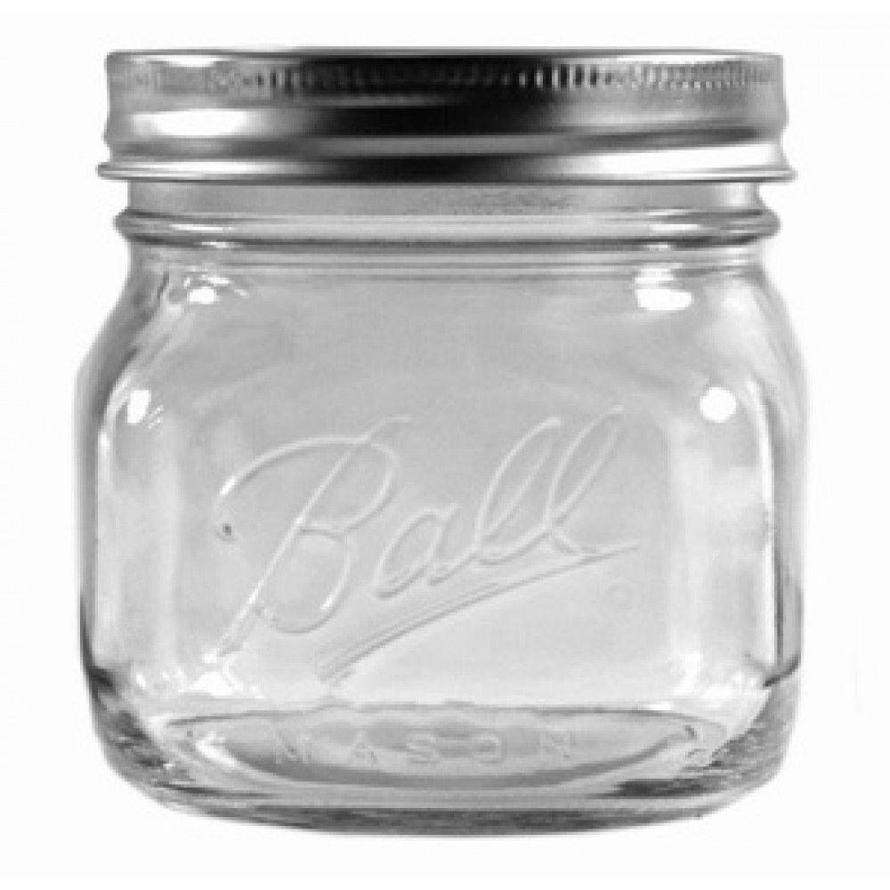 16 oz. Collection Elite Wide Mouth Jar (4 per Pack)