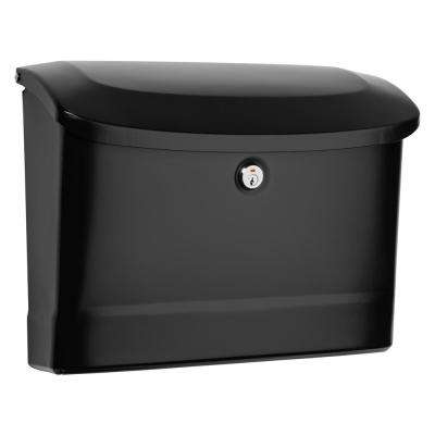 Princeton Locking Wall Mount Mailbox Black