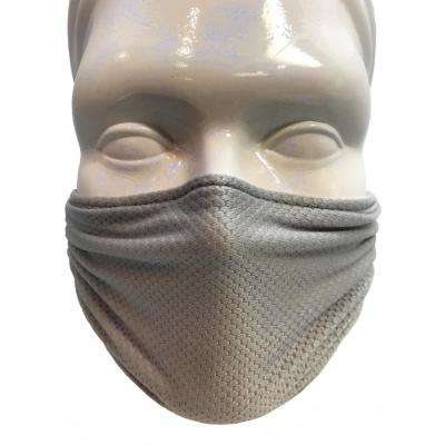 Multipurpose Washable/Reusable Dust, Pollen and Germ Mask in Silver